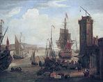 250px-Jacob_Knyff_English_and_dutch_ships_taking_on_stores_at_a_port.jpg